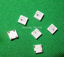 1000ชิ้น/รีลWS2812B; 4pin; 5050 SMD RGB LEDที่มีในตัวWS2811S ICภายใน;