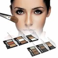 Eye Brow Powder Makeup Kit with brush 3 Color Eyebrow Enhancer Waterproof Make Up Palette Women Beauty Cosmetic A2