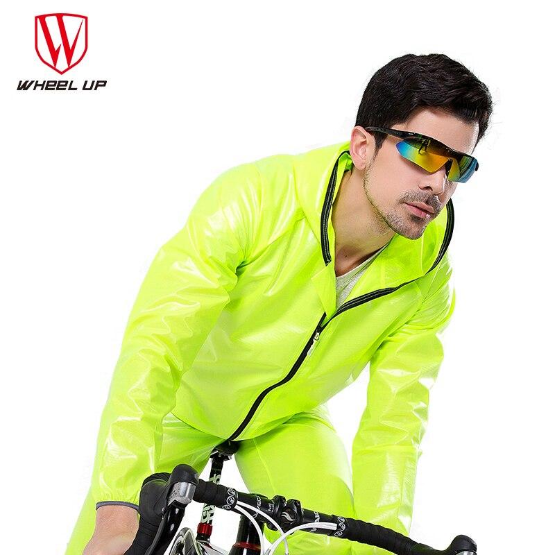 Waterproof Windproof Cycling Jacket Raincoat Men Road MTB Mountain Bike Raincoat Pants Rainwear Sets Cycling Equipment