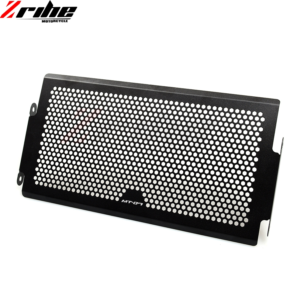 for MT 07 2014 2016 Aluminum Radiator Grille Cover Radiator Protective Grills Guard For Yamaha MT07 MT 07 MT 07 2014 2016 14 15 in Covers Ornamental Mouldings from Automobiles Motorcycles
