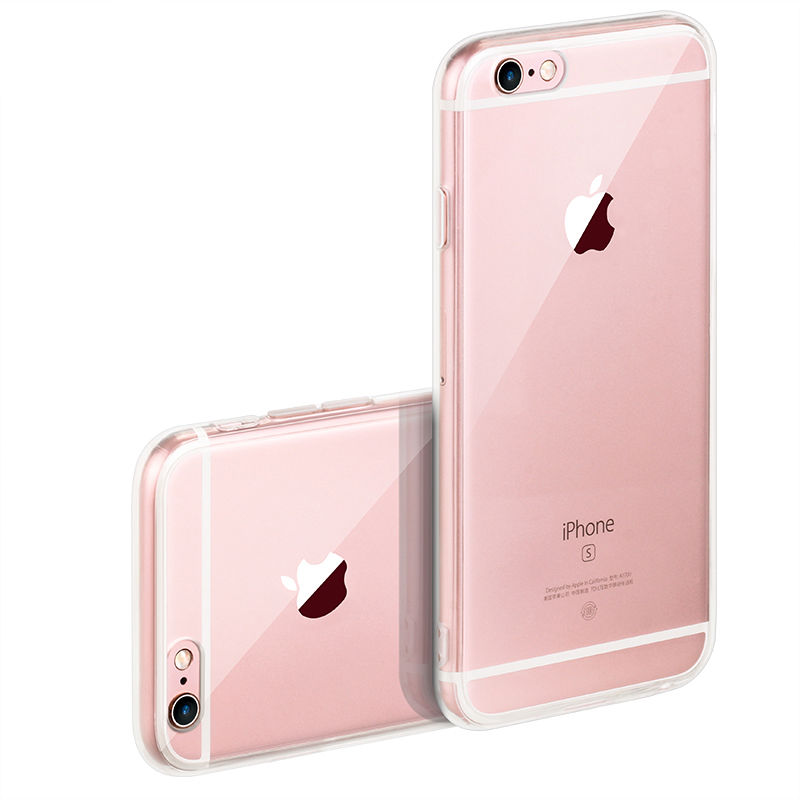 Clear For Apple Iphone 4 5 5S SE 6 6S Plus 7 Plus Cases Silicon TPU Soft Phone Bags Cases For Iphone 4 4S 5 5S SE 6 6S 7 7Plus