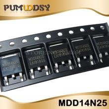 10pcs/lot Free shipping MDD14N25 14N25 MOS TO-252 original authentic