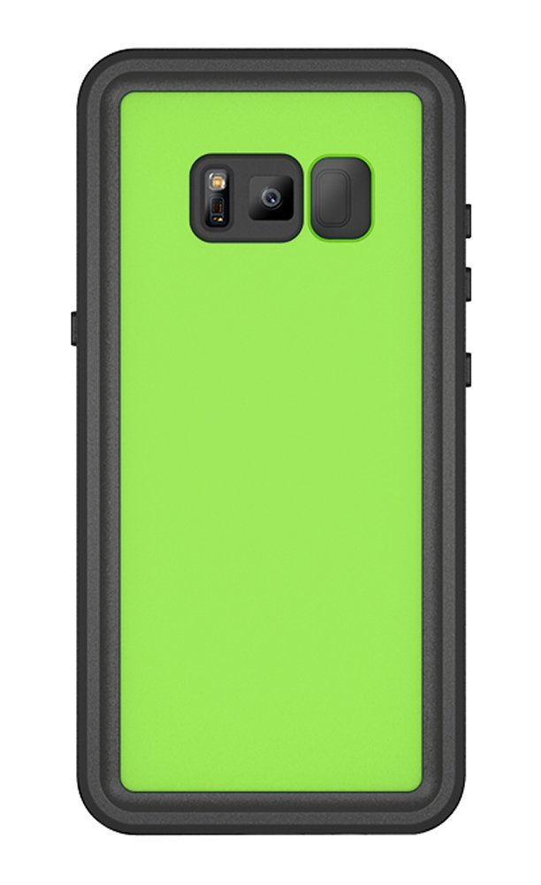 For Samsung Galaxy S8 IP68 Waterproof case Shock Dirt Snow Proof Protection for Galaxy S8 With Touch ID Case Cover Light green in Fitted Cases from Cellphones Telecommunications