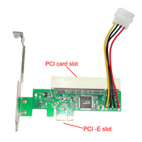 Новый PCI Express PCI-E PCI карты адаптера Asmedia 1083 Чипсет зеленый AC385 QJY99