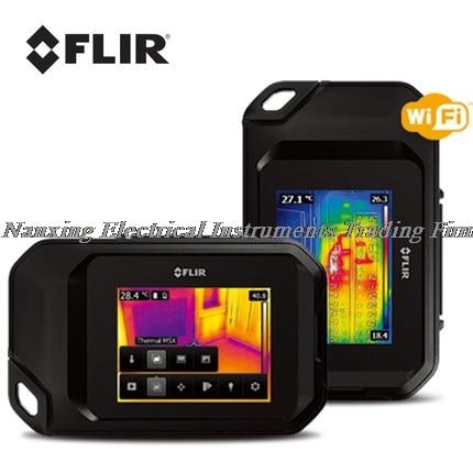 Nouveau FLIR C3 Compact professionnel infrarouge thermique caméra de poche taille IR caméra capteur de chaleur avec Wi-Fi