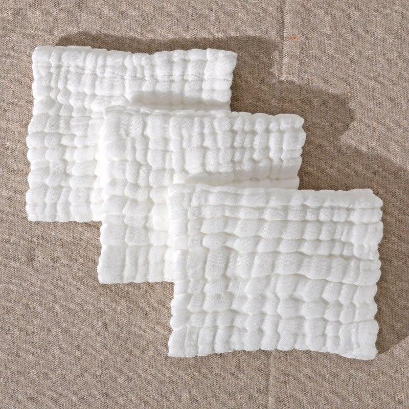 10 stks / partij Baby Katoen Gaas Mousseline Gezicht Handdoek Baby - Babykleding - Foto 3