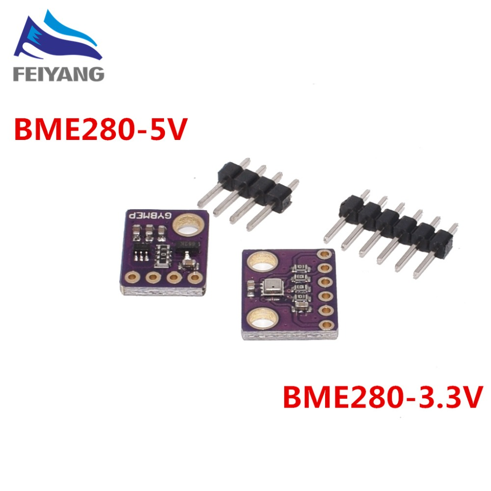 1.8-5V GY-BME280/GY-BME280-3.3 Precision Altimeter Atmospheric Pressure BME280 Sensor Module(China)