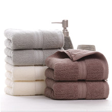 2018 New 10pcs Towel Cotton Large Hand Towels Multi Use for Bath Hand Face Gym and Spa Ultra Soft Towels Custom Embroidery Towel hand towel and face bayramaly 50 90 cm lilac