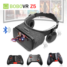 BOBOVR Z5 VR Bluetooth Headset Glasses Vibrator Head Mount Virtual Reality Box Headphone With Mocute 050 054 056 Remote Controll