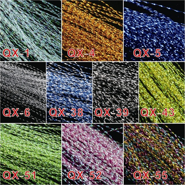 Maximumcatch 10 colors, 10 bags Flashabou Holographic  Crystal Flash Fly Tying Material Lure Making Fly Tying