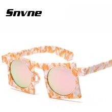 Snvne lente gafas de sol de marco cuadrado gafas de Sol Retro redondo hombres mujeres Marca de diseño gafas de sol oculos feminino hombre KK568