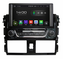 1024*600 Quad Core 8″ Android 5.1 Car dvd player for Toyota Yaris 2014 With Car Radio GPS 3G WIFI Bluetooth TV USB Mirror link