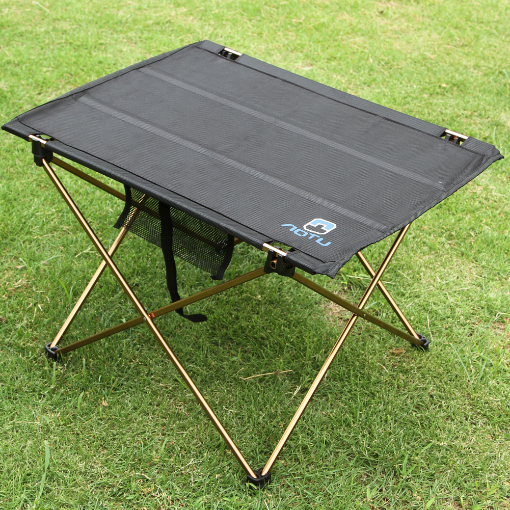 Lightweight Aluminium Alloy Portable Folding Table For Camping Outdoor Activties Foldable Picnic Barbecue Desk L56 W42 H37cm In Tables From