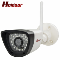 IP Camera 720P Wifi Camera ABS Plastic Material Wireless Home Surveillance CCTV P2P Waterproof IP65 Network