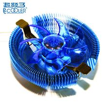 PCCOOLER E92F 90mm 4 Pin Biru LED CPU Cooler Cooling Fan untuk Intel LGA775 115X untuk AMD AM2 AM2 + CPU Cooling Fan(China)