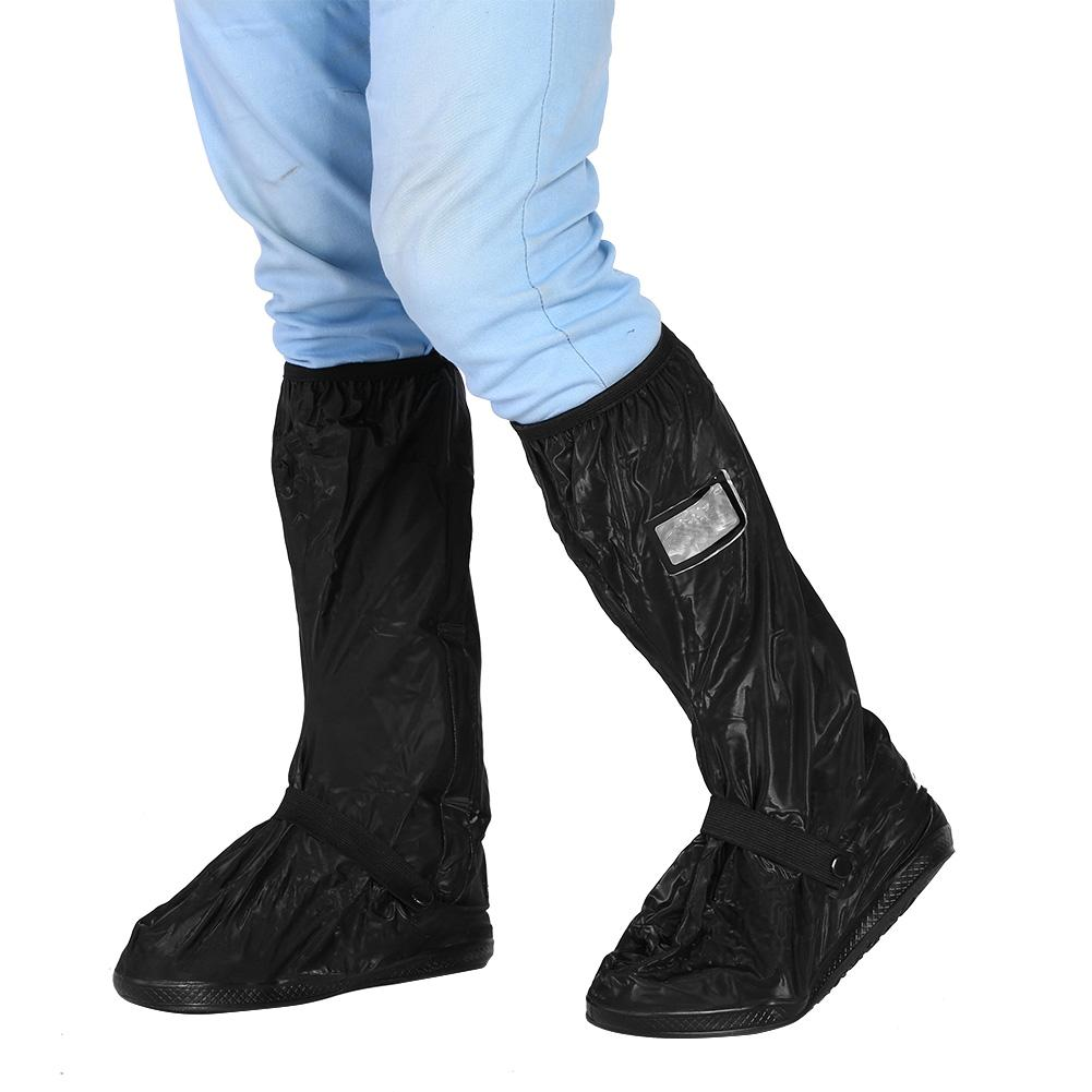 Moto bicicleta ciclismo impermeable lluvia Zapatos cubierta Para lluvia nieve día antideslizante Botas cubiertas Para Moto impermeable
