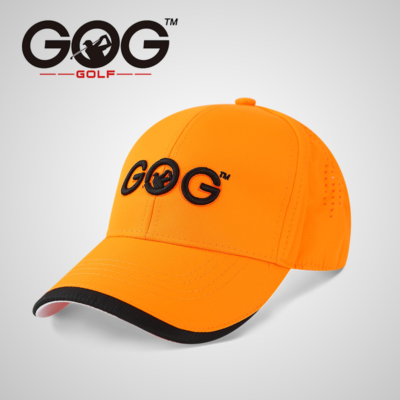 Free Shipping GOG golf cap golf hat polyester Snapback Sunscreen Caps Baseball sports hats Unisex Adjustable for men women ...