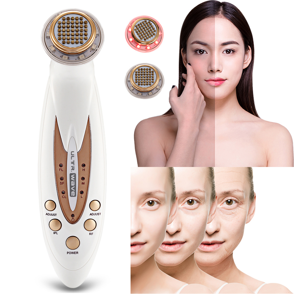 Portable Fractional RF Beauty Device Face Lifting Skin Tightening Wrinkle Removal Eliminating Facial Fatigue Beauty Skin Care inteligent temperature control lcd display mini fractional rf thermage skin lifting beauty wrinkle remove device free shipping