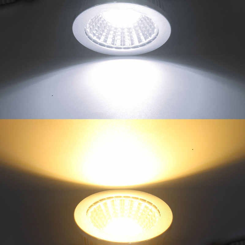 A + + + энергии по низкой цене светодиодный лампы с регулируемой яркостью светодиодный светильник 85-265V 9 Вт, 12 Вт, 15 Вт, E27 COB светодиодный светильник E14 MR16 Светодиодный точечный светильник
