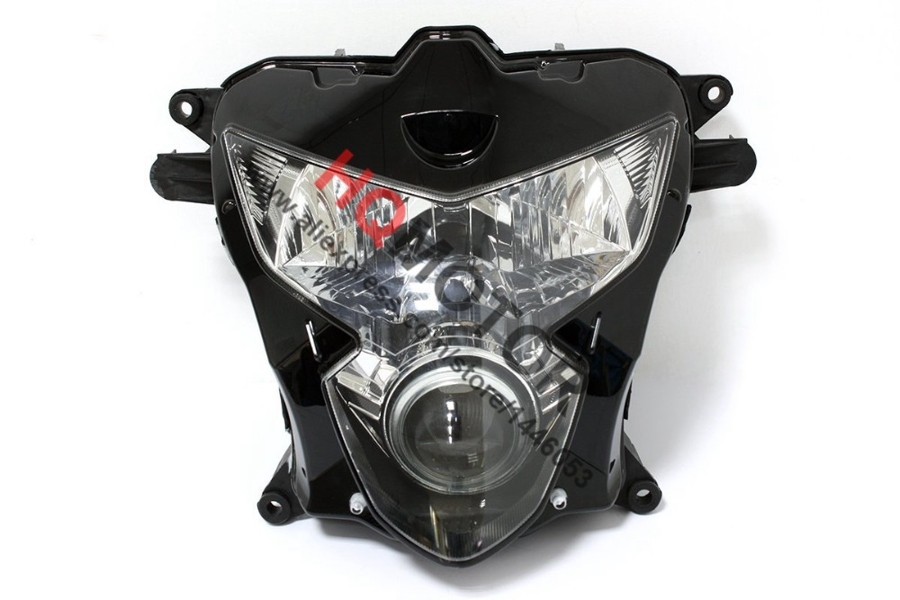 Headlight Assembly Headlamp For Suzuki GSXR600 GSXR750 K4 2004 2005 lowest price fairing kit for suzuki gsxr 600 750 k4 2004 2005 blue black fairings set gsxr600 gsxr750 04 05 eg12