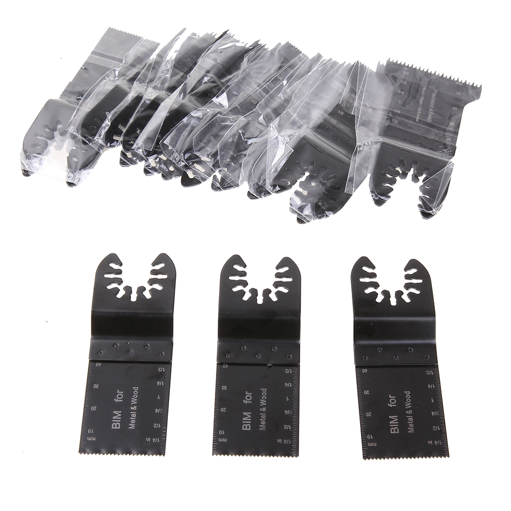 20PCS oscillating tool saw blades for renovator power tools as Fein multimaster,Dremel,electric tools accessories 9*4.5*0.5CM