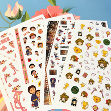 Newest MG-219-374 Cartoon character 3d nail art sticker nail decal stamping export japan designs rhinestones  decorations
