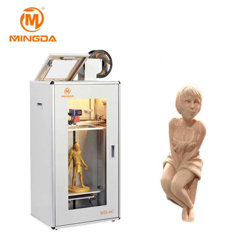 Fast Speed MINGDA Full Color Metal 3D Printer Machine For Sale , Desktop Printer 3D , Digital 3D Printing Machine For Sale hot product 3d cnc machine for sale