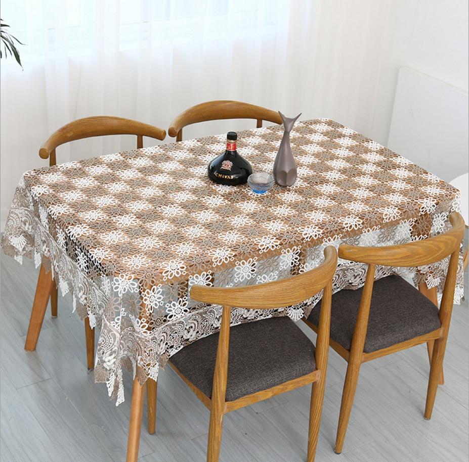 פסטורלי משלוח חינם במסרגה אחת סריגת בד שולחן מפת שולחן רקמת שני צבעים סרוגה תה/פסנתר כיסוי/כיסוי ספה