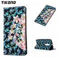 Fashion 3D Flower Wallet PU Leather Card Mobile Phone Diamond Case For Motorola Moto G3 G4 G4play X4 Xplay Flip Cover With Stand