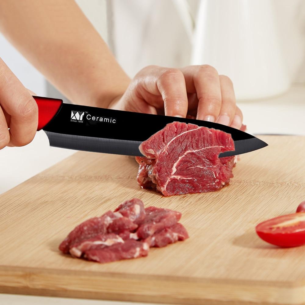 XYj Kitchen Knife Ceramic Knife Set 3 2
