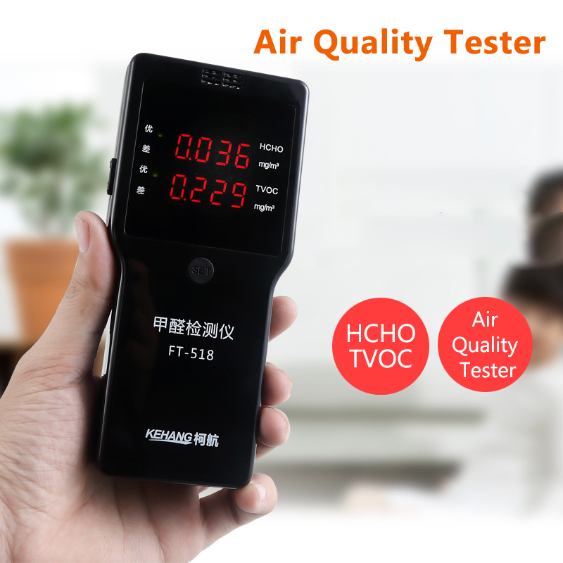 Formaldehyde HCHO TVOC Monitor Gas Analyzer with Alarm Air Quality Household Protection Digital Gas Detector 2016 new handheld formaldehyde gas detector sound alarm gas analyzer