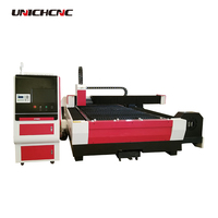 500w 1000w fiber laser cutting machine for metal sheet with rotary device for pipe and tube cutting