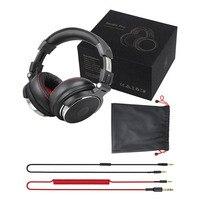 Oneodio profissional dj studio com fio monitores de fone ouvido sobre a orelha gravação fones estéreo para o telefone computador 6