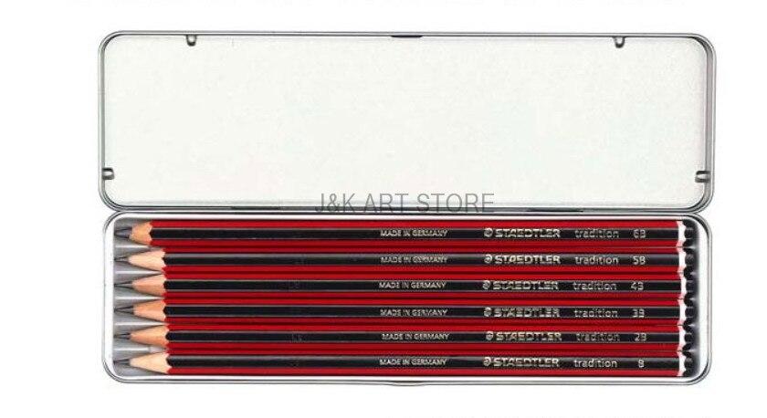 Staedtler Tradition Sketching Pencils Set of 6