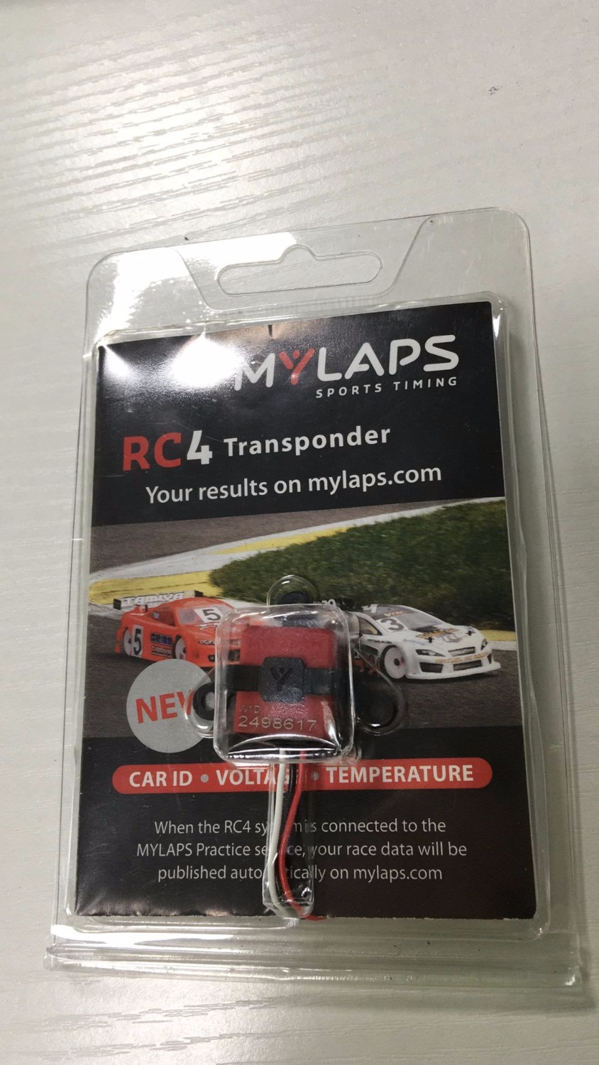 MYLAPS AMB RC4 Hybrid 3 Wire Personal Transponder RC Racing 10R078