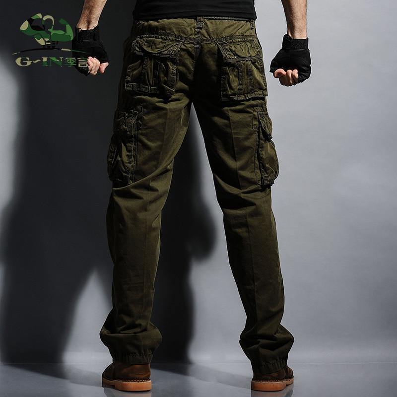 Neue Männer keucht Vlies plus Hosen der Größen-Militärmänner - Herrenbekleidung - Foto 3