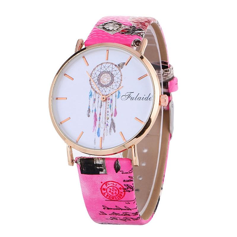 New Women s watches Relogio feminino Saat Fashion Women Colored PU Leather Watch Wrist Watch women