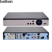 GADINAN AHD 5MP DVR Security CCTV DVR 4CH AHD 5MP 4MP 3MP 1080P H 264 Hybrid