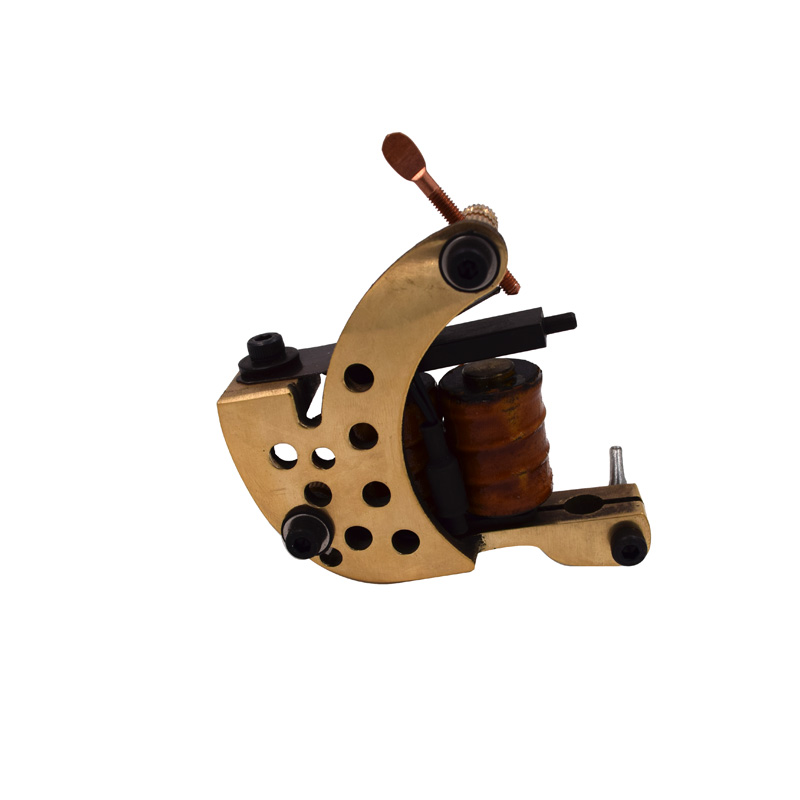 Tattoo Machine Gun 10 Wrap Coils Handmade Rotary Machine Shader Liner Body Art Permanent Makeup Tattoo Needle Tips Power Supply недорого