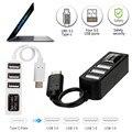 2016 горячей продажи моды Типа С Для 4-портовый USB 3.0 Концентратор USB 3.1 Адаптер Для MacBook Pro (2016) и Другой Тип-С Поддерживается Девери хороший