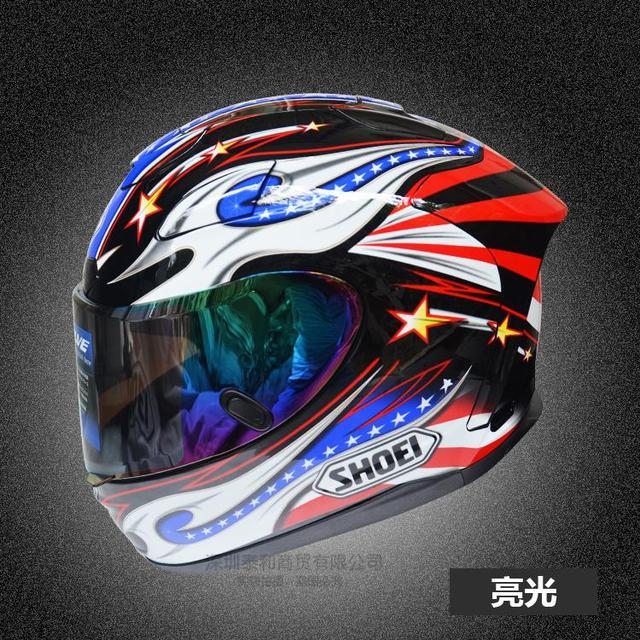 Free shipping for Full Face Helmet Classic Motorcycle Helmets motociclistas capacete Kart Racing Helmet ECE   hke