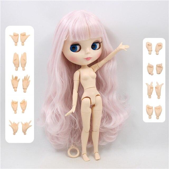 factory blyth doll bjd brown hair tan skin joint body 30cm