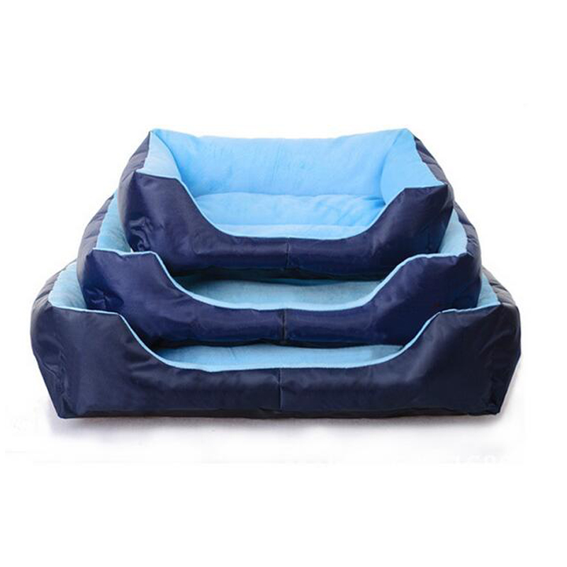 Autumn Winter Dog Kennel Super Comfortable Soft Sofa Dog Cats Beds Blue/Red  Puppy Pets Bed Pet House For Small And Medium Dog