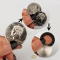 magnetic flipper coin Butterfly Coin&Money Magic, Magic Trick Coin (made of Half Dollar copy )  magic props 81129