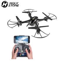 [EU USA Stock] Holy Stone HS200 Drone Wifi FPV Video 720P Camera HD RC Drone Quadcopter Altitude Hold Flips Headless Mode Black недорого
