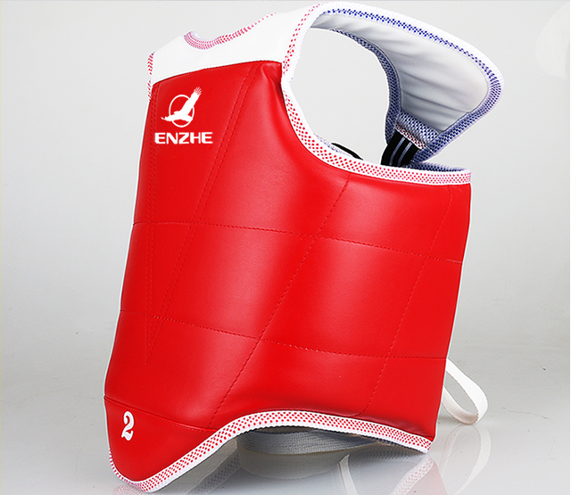 Blue Red color Taekwondo Chest guard Adult kids taekwondo chest protector fighting training competition TKD protectors vest 1-4#