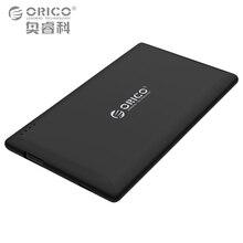 Orico 8000 мАч power bank внешняя батарея портативный мобильный резервного копирования банк зарядное устройство для андроид iphone встроенный полимерный аккумулятор