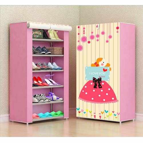 Обувные стойки нетканые ткани мебель обувной шкаф хранения обуви mueble zapatero полка для обуви