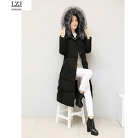 LZJ Warm Jacket And Coat For Women New Winter Collection 2016 High Quality Female Warm Parka