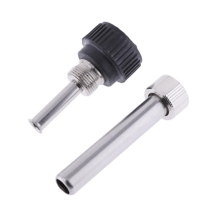 3pcs Thermostability Soldering Station Iron Handle Accessories for 936 907 Iron Head cannula Iron Tip Bushing Heating Element
